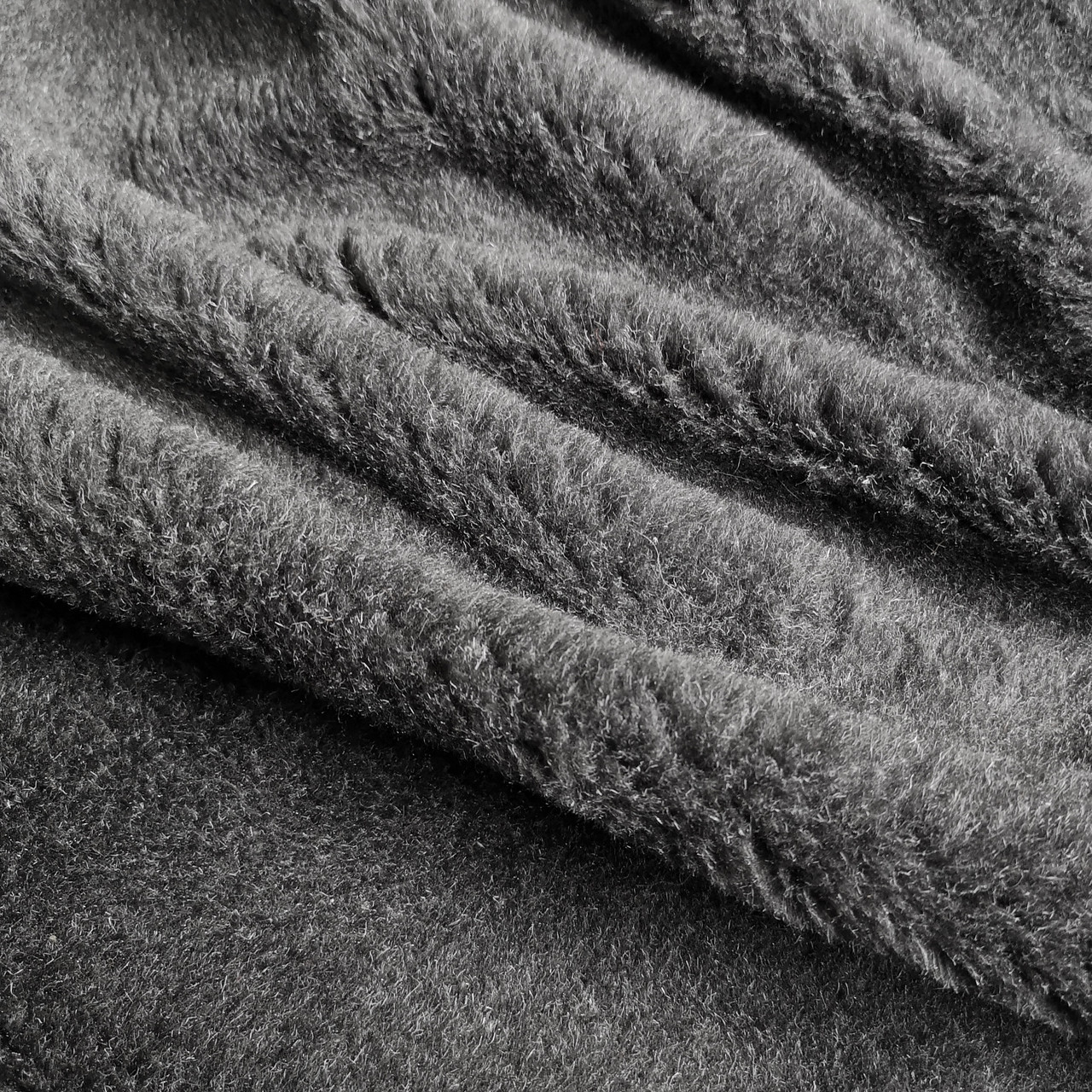 Мех подкладочный ПШ серый
