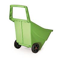 Садовая тачка Prosperplast Load & Go III, 95 л, оливковый