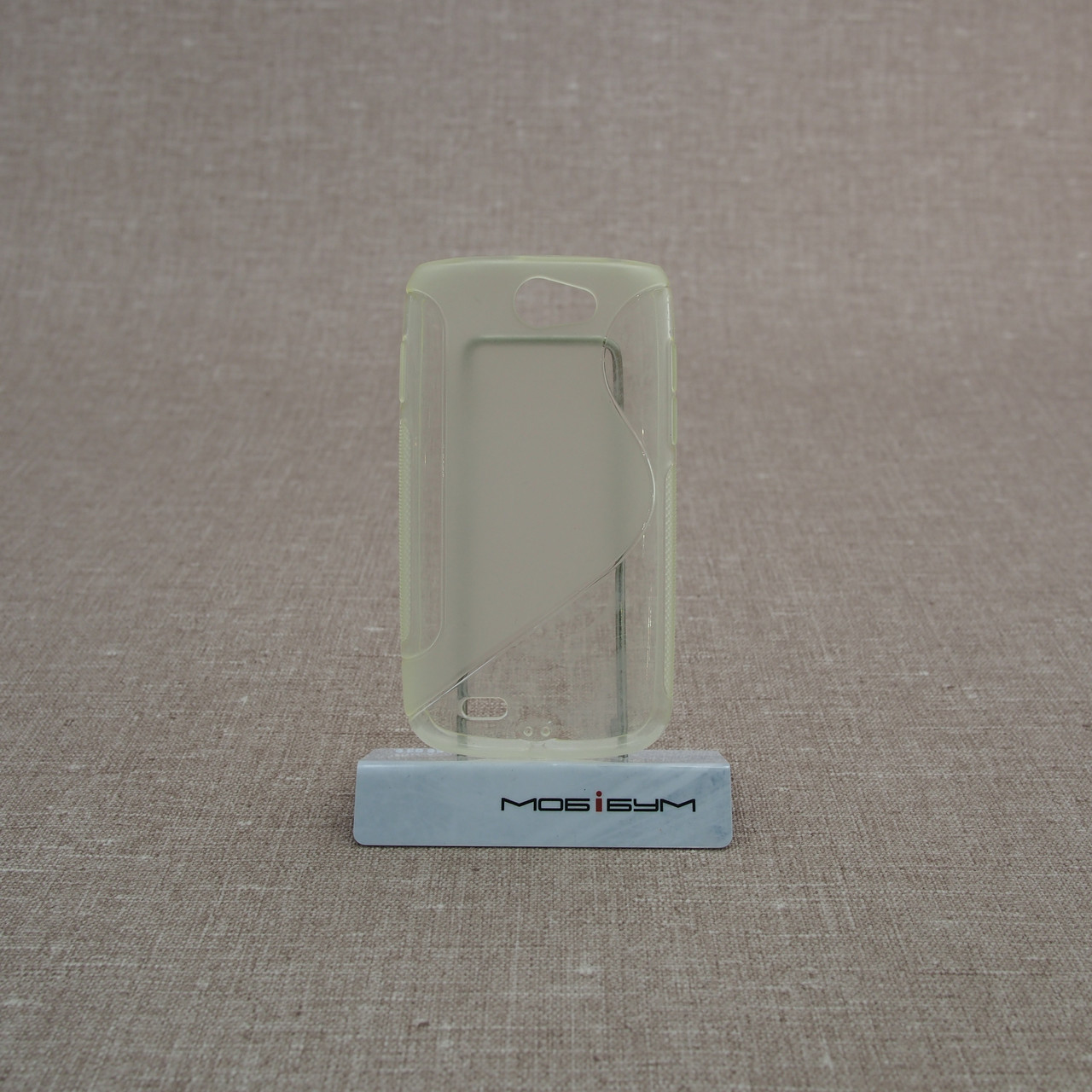 Чехол TPU Duotone Samsung Galaxy W i8150 black [OEM]