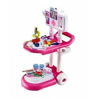 Детский Игровой набор для девочки доктор 13244 Медицинская тележка
