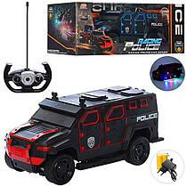 Крутая полицейская Машина броневик на радиоуправлении, джип Полиция 32 см,666-710A