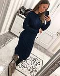 Женское вязаное платье (6 цветов), фото 4