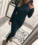 Женское вязаное платье (6 цветов), фото 5