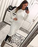 Женское вязаное платье (6 цветов), фото 7