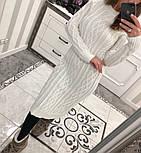 Женское вязаное платье (6 цветов), фото 6
