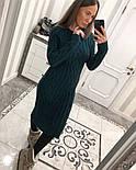 Женское вязаное платье (6 цветов), фото 9