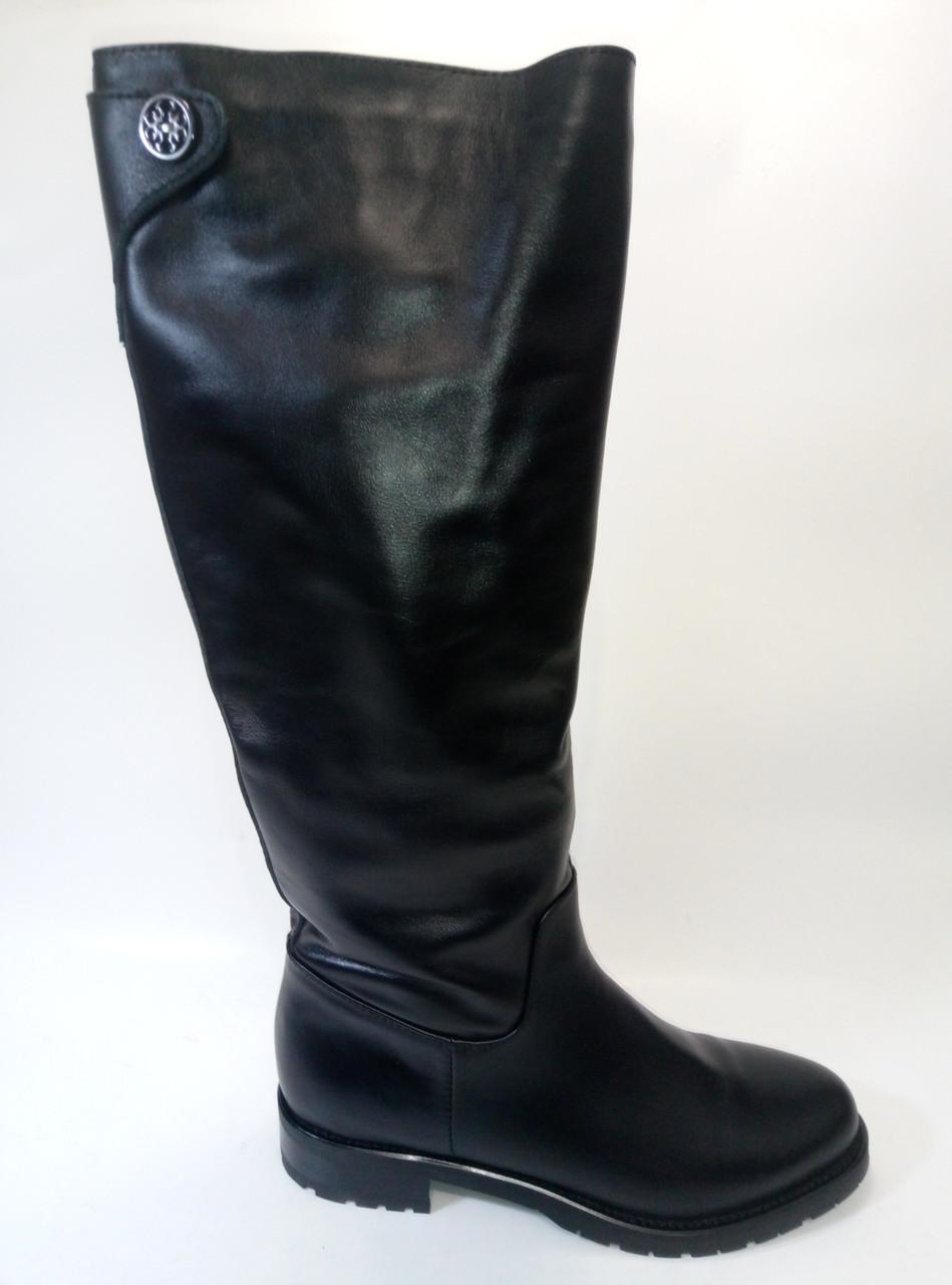Женские кожаные сапоги евро зима ТМ Lonza - Взуття українських брендів  «УкрТоп» в Киеве 29675e2d30a