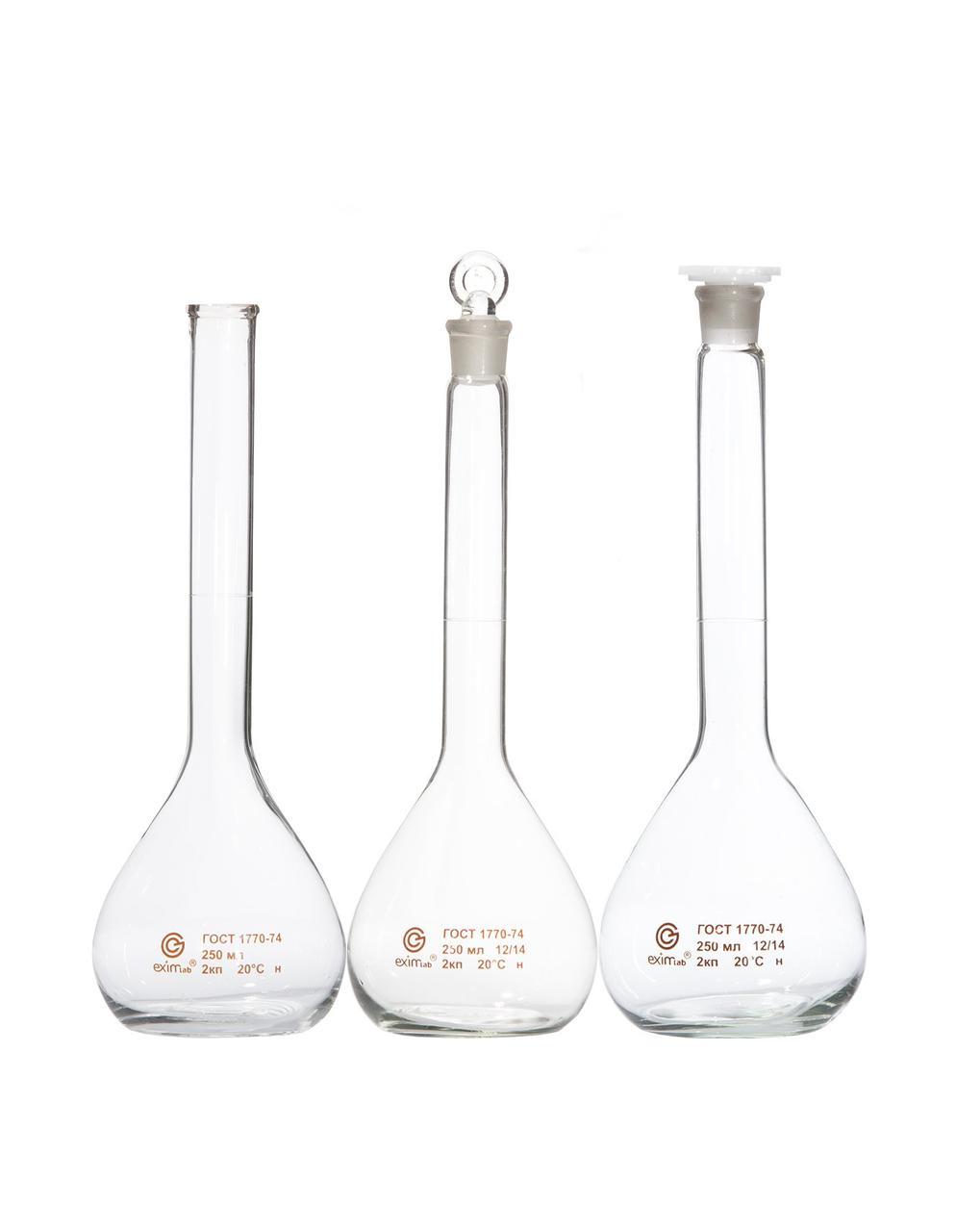 Колба мерная с цилиндрической горловиной,   КМ-1-25-2