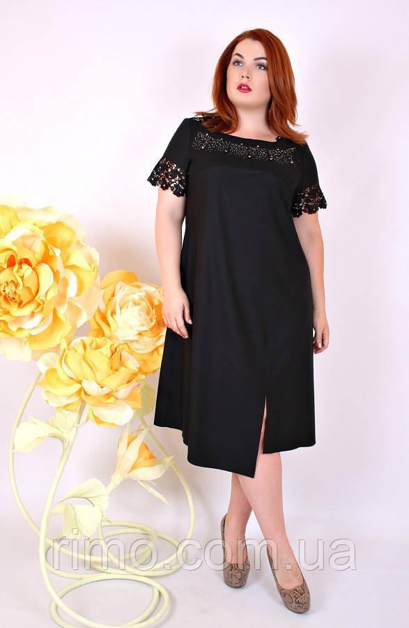 Платье большого размера Стелла (2 цвета)
