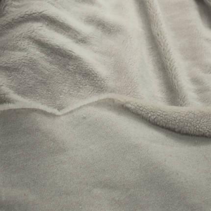 Искусственный мех овчина светло-серая, фото 2