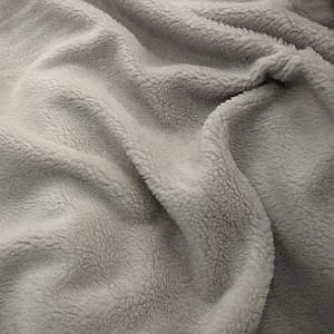 Искусственный мех овчина светло-серая
