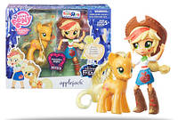 Набор My Little Pony Эпл Джек куколка и пони Elements of Friendship Applejack Pony and Doll