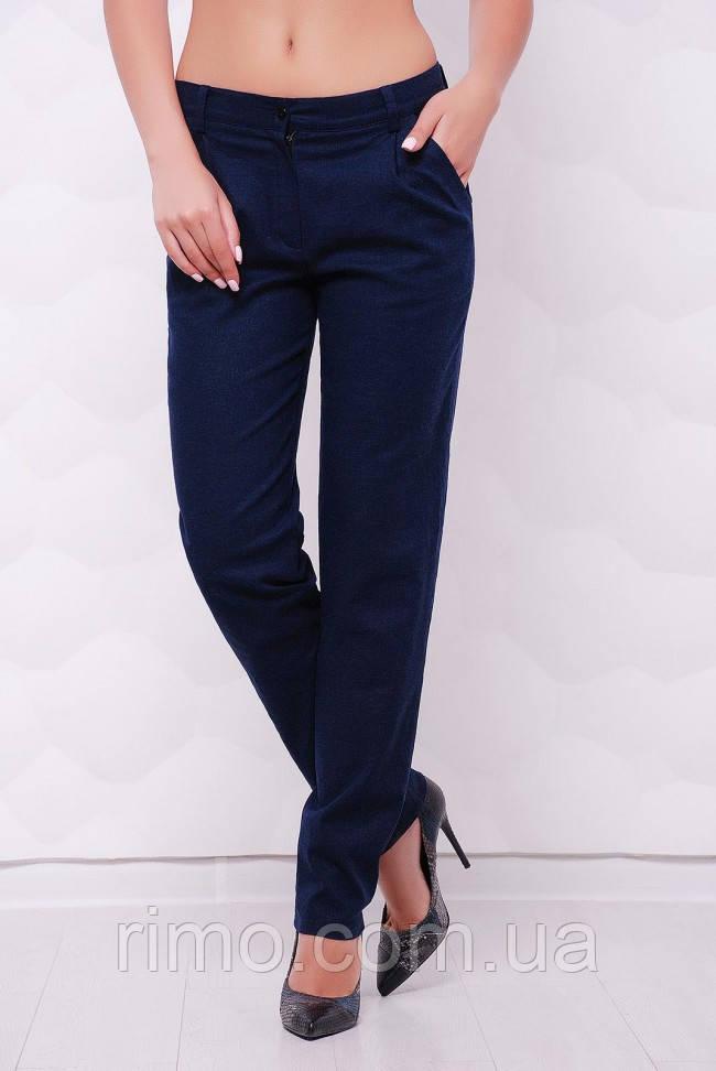 Штани жіночі лляні Ninel SHT-1513A, жіночі брюки льон