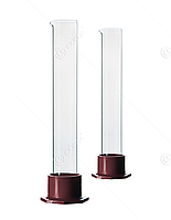 Цилиндр для ареометров  (на  пластиковом основании)  3-49/390 (620 мл)  10004504