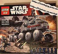Конструктор Lepin 05031 Star Wars Звездные Войны Турбо Танк Клонов 933 дет (аналог лего 75151)