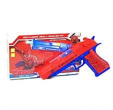 Пистолет музыкальный Мстители: Человек-паук