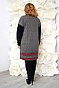 Плаття-туніка великого розміру Колесо (2 кольори), фото 3