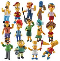 Набір фігурок Сімпсони 14 шт., фото 1