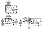 Унитаз подвесной ROCA MERIDIAN A34H248000, фото 2