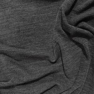 Трикотаж ангора арктика меланж темно-серый