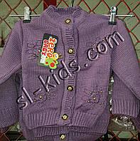 Кофта вязка для девочки 0-2 года (Zero03) пр.Турция