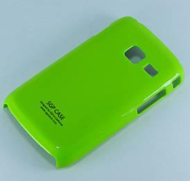 Чехол пластиковый SGP Ultra Thin на Samsung Galaxy Y Duos S6102 Зеленый