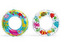 Надувний круг для плавання 58245 Intex (2 види)