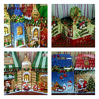 Новогодние коробки и упаковка на сладости
