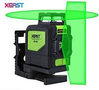 Лазерный уровень (нивелир) Xeast XE-901G (Зеленый луч)