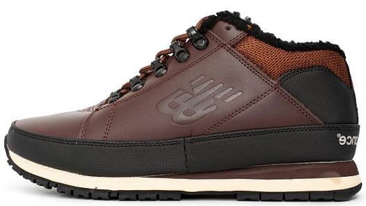 Мужские зимние кроссовки New Balance 754  Brown Black  (в стиле Нью Баланс 75c63c3cfbb