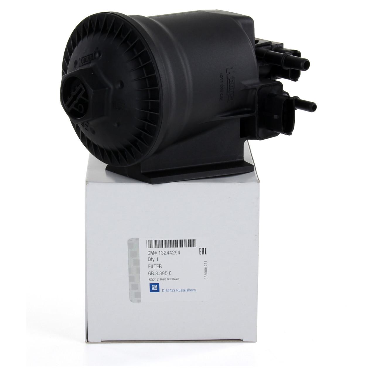 Корпус топливного фильтра (без фильтра) GM 13244294 OPEL Astra-J Insignia Zafira-C & CHEVROLET Cruze Orlando