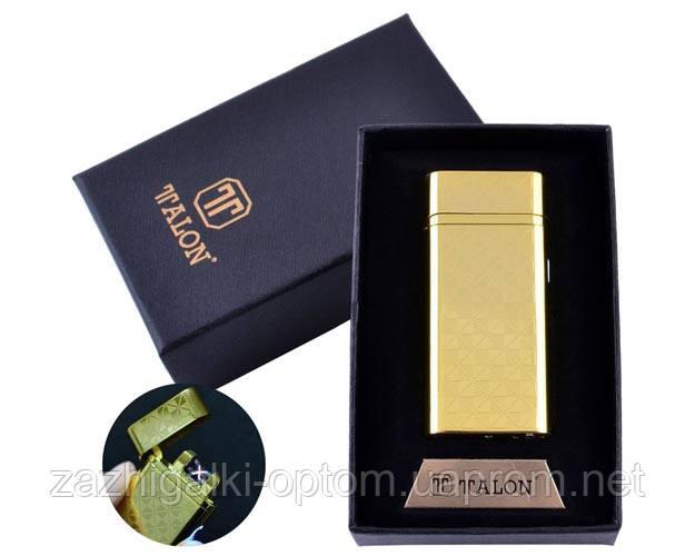 USB запальничка в подарунковій упаковці TALON HL-30-3 (Електроімпульсна,Подвійна блискавка)