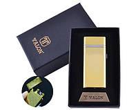 USB зажигалка в подарочной упаковке TALON HL-30-4 (Электроимпульсная,Двойная молния)
