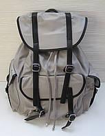 Рюкзак тканевый серый Pelletteria Cesily 7293  (реплика)