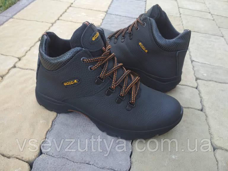 651e8a86791d16 Кросівки шкіряні зимові чорні чоловічі. Тільки 43 розмір!: продажа ...