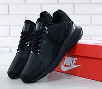 """Кроссовки мужские Nike Air Max 270 Black """"Полностью черные"""" найк аир макс р. 41-45, фото 1"""