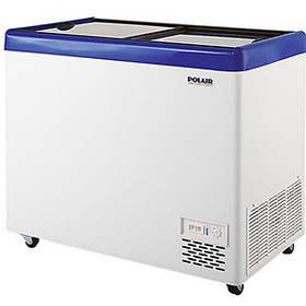Ларь морозильный Полаир Standard с плоскими стеклами DF130SF-S
