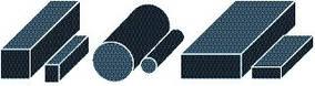 Шнур круглого, прямоугольного и квадратного сечения резиновый МБС, ТМКЩ ГОСТ 6467-79