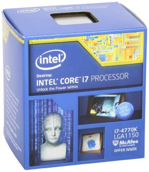 Процессор Intel Core i7 4770K 3.50GHz/8M/5GT/s (BX80646I74770K) s1150, BOX
