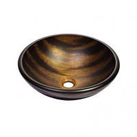 Медные тона с темно-коричневыми полосами GV-695-19mm