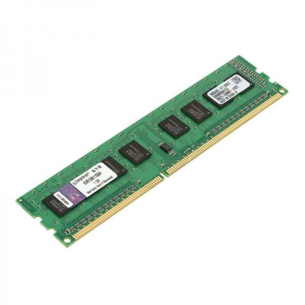 Модуль памяти Kingston DDR3, 4GB, 1600 MHz, KVR16N11S8/4, 1600 MHz, PC3-12800, CL11, 1.5V, для ПК