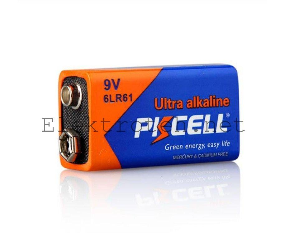 Батарейка щелочная PKCELL 9V/6LR61 крона