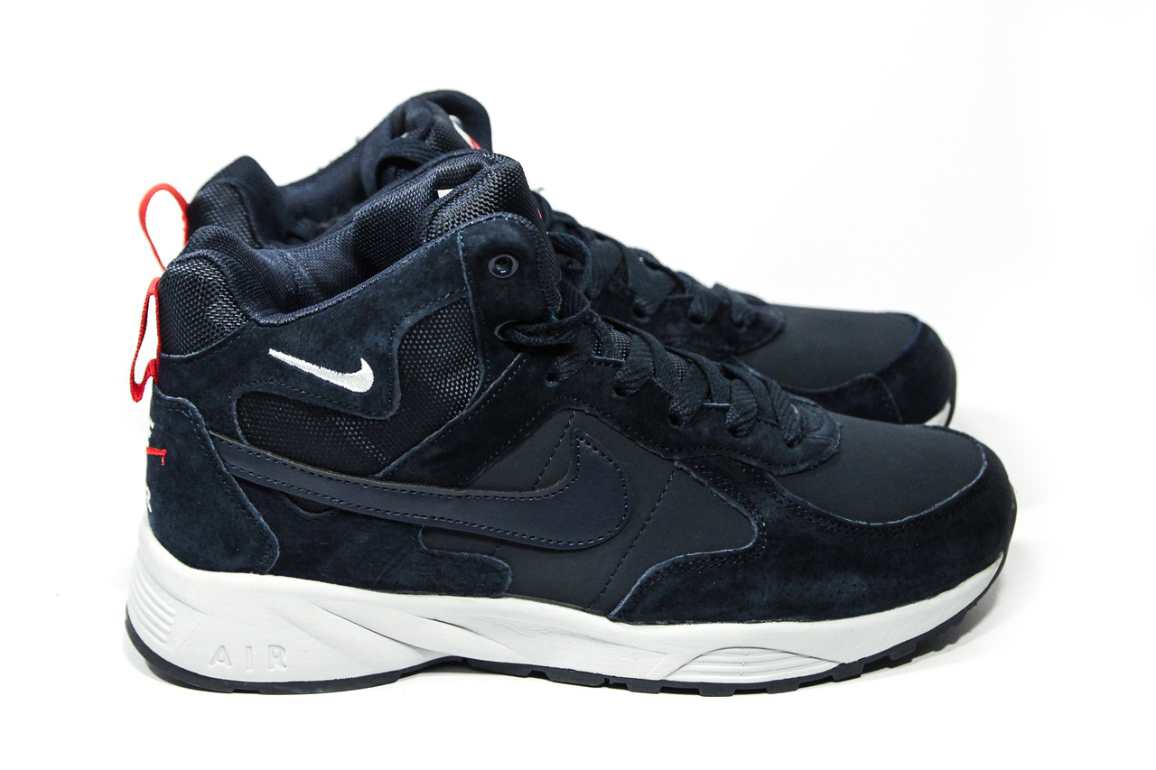 1e7a980de Зимние ботинки (НА МЕХУ) мужские Nike Air 1-098 (реплика): продажа ...