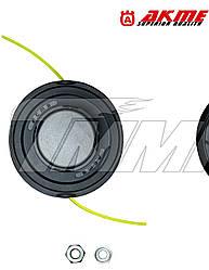 Шпуля с автоматической намоткой  (металлический носик с подшипником+ 2 переходника)   AKME