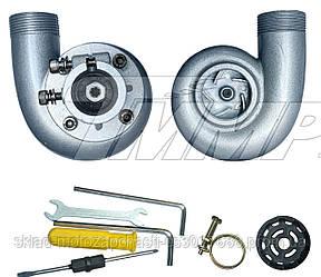 """Насадка водяной насос (помпа)  для мотокосы  (4T-вал ,26mm- штанга, 1.5"""" труба)"""