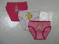 Трусы для девочек Дисней Багс Банни, 3 шт. в упаковке, размеры 2/3 лет (104/110), арт. 2448