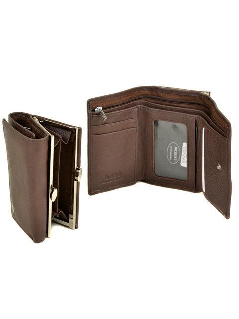Кожаный кошелек Classik маленький монетница снаружи W11 coffee DR. BOND