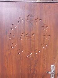 Именная, с Логотипом, Индивидуальная МДФ накладки на дверь для реставрации