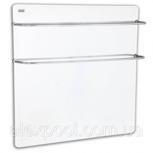 Полотенцесушитель склокерамічний HGlass Premium 6060 W Білий 400 Вт