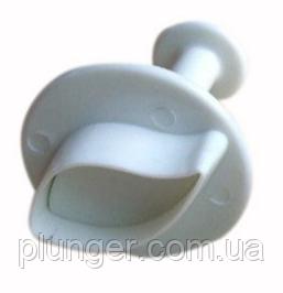 """Плунжер кондитерский """"Листик универсальный"""" маленький, 2.5 см х 1,4 см"""